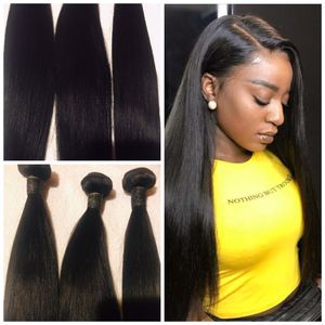"Beautiful straight bundles 18""20""22"" with 16"" free part closure. for Sale in Las Vegas, NV"