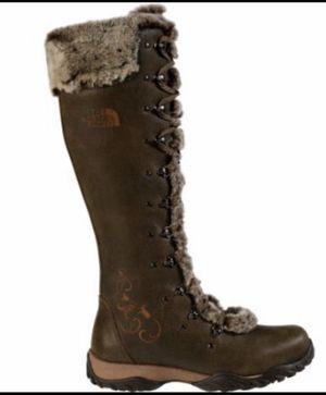 Tall the north face boots sz 10 snow rain PRIMALOFT WARMTH for Sale in Lodi, CA