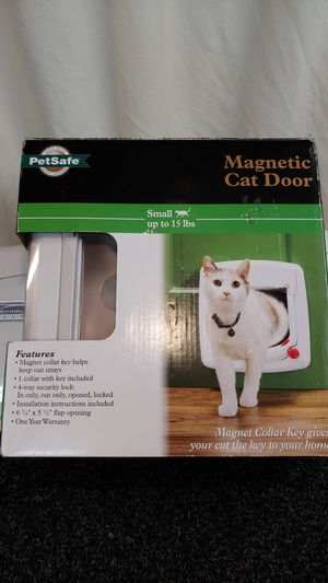 Now only $20! Brand New Magnetic Cat/Dog Door by PetSafe for Sale in Aberdeen, WA