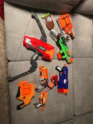 Nerf Gun Collection for Sale in Germantown, MD
