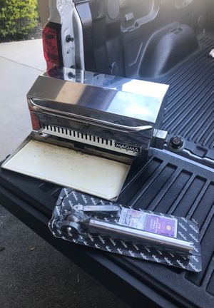 Magma stainless steel marine grill & accessories for Sale in Miami, FL