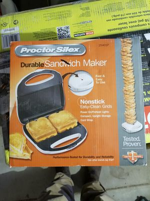 Sandwich maker and space heater combination for Sale in Vernon, AZ