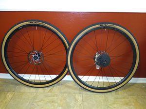Gravel Bike CX Wheelset 700c thru axle Disc for Sale in South Pasadena, CA
