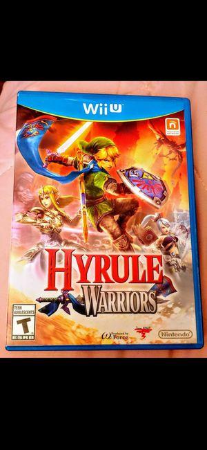 NINTENDO Wii U HYRULE WARRIORS 100%💥💥 for Sale in Escondido, CA