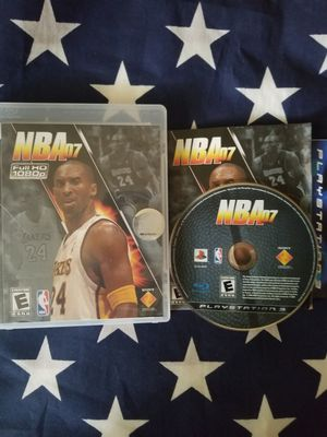 NBA 07 (PS3) for Sale in US