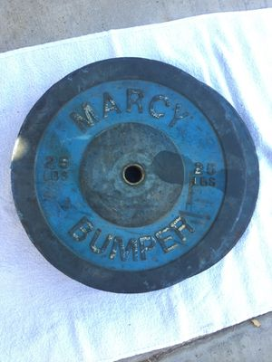 Marcy 25lb bumper plates for Sale in Diamond Bar, CA