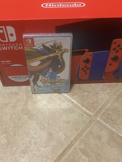 Brand New Nintendo Switch Mario Edition With Pokémon Sword Game for Sale in Molalla,  OR
