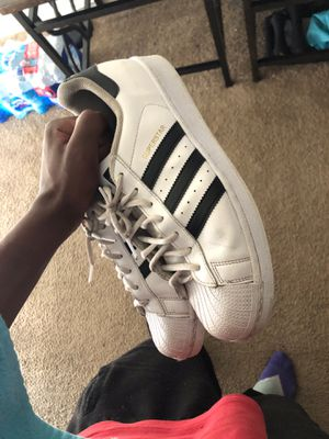 Used shell toes adidas size 10.5 for Sale in Tampa, FL
