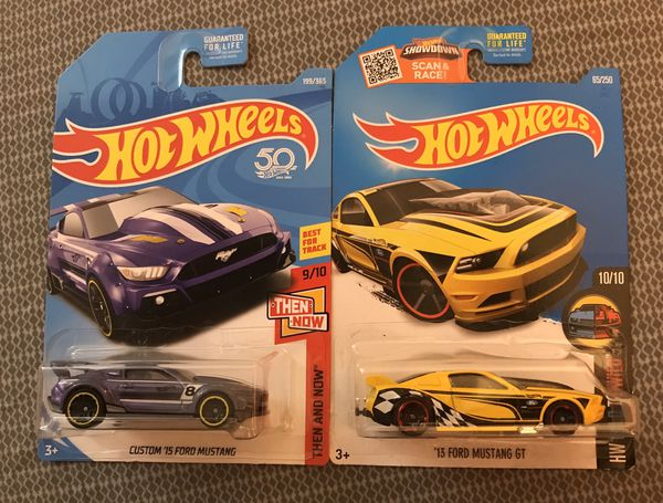 Hot Wheels Ford Mustang lot