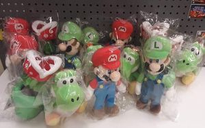 Nintendo plushies $20 each for Sale in Stickney, IL