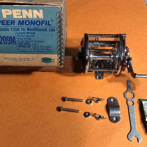 Penn Peer Monofil 209M Reel, Level wind for Sale in Redmond, WA