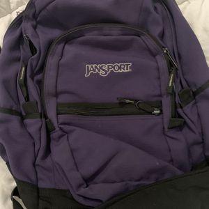 Jansport Purple Backpack for Sale in Sugar Land, TX