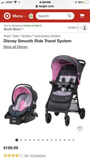 Minnie Mouse car seat stroller combo for Sale in South Bend, IN