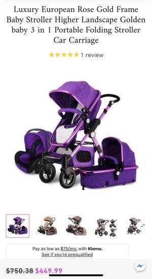 Baby strollers luxury for Sale in Riverside, CA