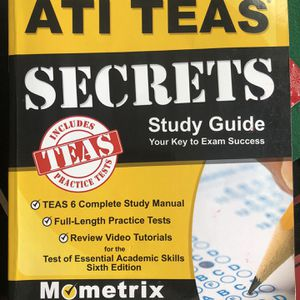 TEAS Study guide for Sale in Silver Spring, MD