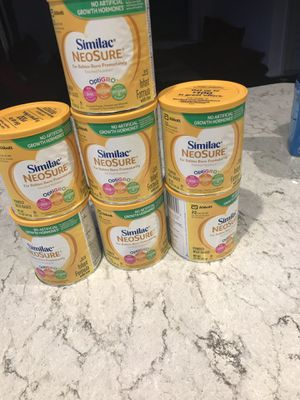Similac neosure each $8 for Sale in Auburn, WA