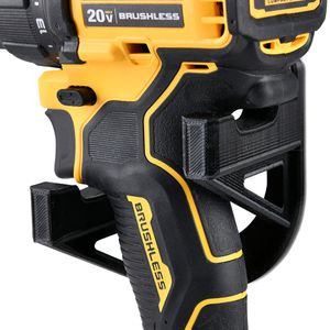 Wall mount stand rack holster for DeWalt Milwaukee Makita Power Drills or Impact Tools 2pcs Black for Sale in Ontario, CA