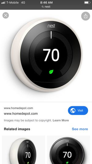Nest thermostat in box new for Sale in West Covina, CA