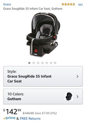 Graco Infant Car Seat for Sale in Medford, MA
