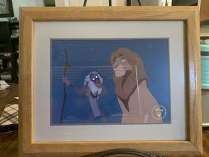 1995 Disney Store Exclusive Commemorative Lithograph for Sale in Chandler, AZ