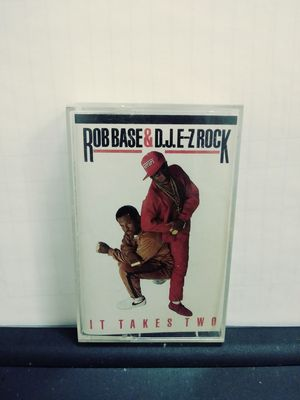 ROB BASE & D.J E-Z ROCK IT TAKES TWO CASSETTE for Sale in St. Louis, MO