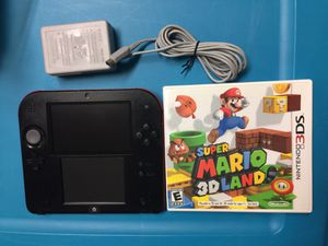 Nintendo 2DS Game System & Super Mario 3D Land Game Bundle For Sale for Sale in Austin, TX