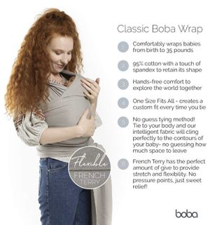 Boba Stretchy Baby Wrap for Sale in Los Angeles, CA