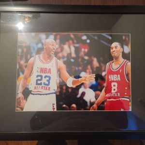 Picture Of Michael Jordan And Kobe Bryant for Sale in Brentwood, MD