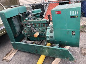 45k. Onan generator. Natural gas 130hours used for Sale in Boston, MA