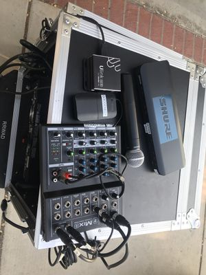 Amp/receiver/mic/mixer/ DJ equipment for Sale in San Diego, CA