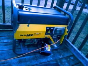 Clarke 8000 GENERATOR for Sale in Grottoes, VA