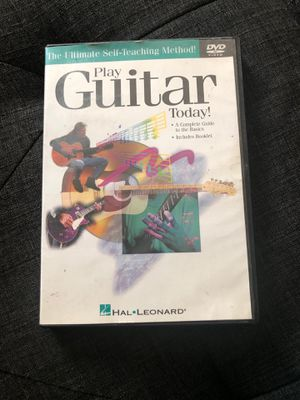 Learn to Play Guitar Today DVD for Sale in Riverside, CA