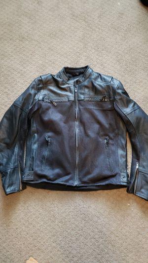 Leather/Mesh Motorcycle Jacket (Medium) for Sale in Woodridge, IL