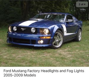 FORD MUSTANG, Factory HEADLIGHTS and FOG LIGHTS. for Sale in Lake Elsinore, CA