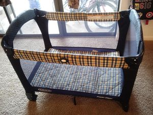 Graco playpen with cover for Sale in Herndon, VA