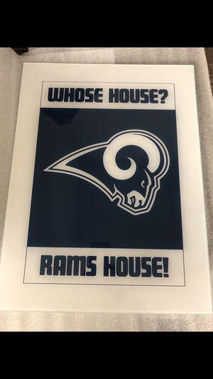Rams wall art for Sale in Garden Grove, CA