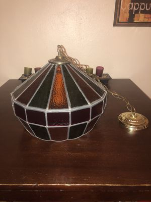 Stained glass billiard lamp for Sale in Swansea, IL