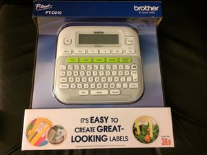 New Brother P-Touch label machine for Sale in San Jose, CA