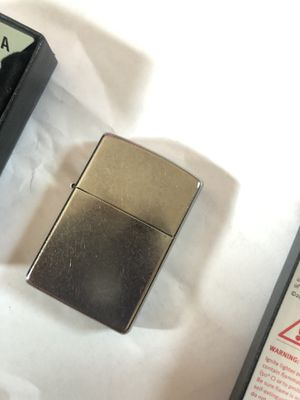 Plain Zippo Lighter (With Box) **Never Used** for Sale in Johnston, RI