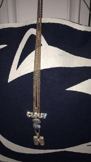 Gold plated chains forsale best offers 🤑 for Sale in Huntingdon, PA