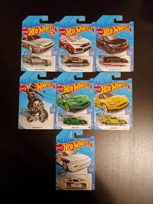 Hot Wheels Honda complete set with doubles!! for Sale in Malden, MA