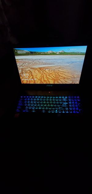 MSI Gaming Laptop w/ 1500gbs MS-16K5 for Sale in E RNCHO DMNGZ, CA