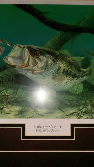 Largemouth bass picture. for Sale in Dorchester, NJ