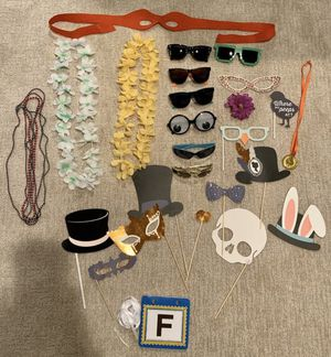 Photo booth props for Sale in San Antonio, TX