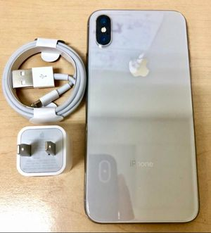 iPhone X 64GB Like New ( Unlocked for any carrier ) for Sale in Silver Spring, MD