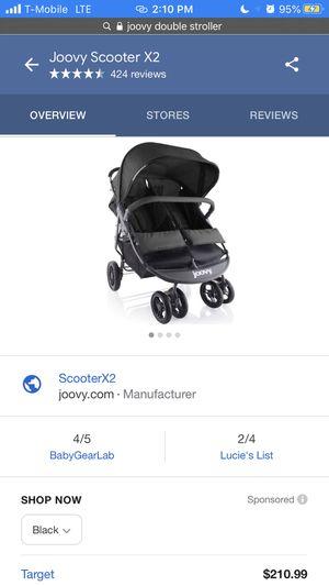 Joovy Double Stroller for Sale in Phoenix, AZ