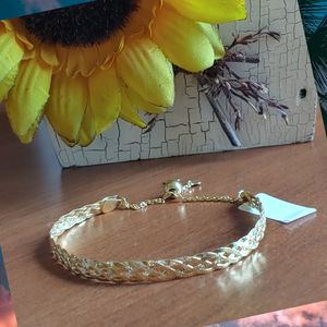 14k y gold over sterling silver bracelet for Sale in Pompano Beach, FL
