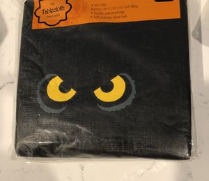 Halloween 🎃Vinyl TABLECLOTH 👀 for Sale in Palm Springs, FL