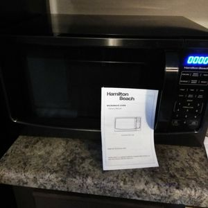Large Black Heavy Duty Microwave for Sale in Columbia, SC