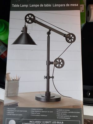 Rustic table lamp for Sale in Washington, DC